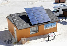 TANFON 1kw solar home system power up a refrigerator or 1hp AC