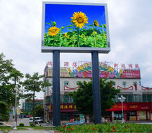 P10 two dual side face double side led display full color outdoor double sided outdoor scrolling led sign box led moving sign