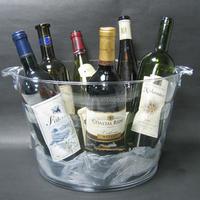 Bottle Wine Champagne Cooler acrylic ice bucket