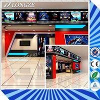 Newest Technology Business Investments Mobile 5D 7D Cinema with Cabin