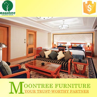 Moontree MBR-1329 star-rated hotel rooms to go bedroom furniture china