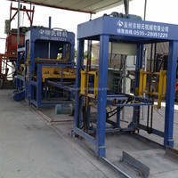 Quanzhou good service low cost Chinese auto vibration process brick machine LS8-15