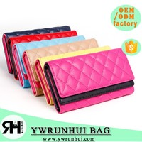 2015 women new fashion leather wallet European style high-quality top layer genuine lingger long wallet/purse
