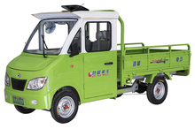 hot sale 4 wheel cargo truck tricycle with solar panel