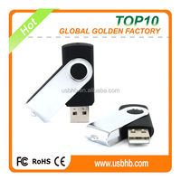 bulk item swivel 1GB pendrive from alibaba , laser logo/ silk printing 1GB swivel usb pendrive