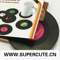 2014wholesale alibaba furniture houseware Vinyl shape cup mat