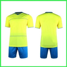 Customed Blank Training Soccer Jersey & Short Kit
