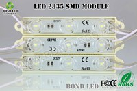 2015 NEW LED! 3 chips 2835 led module with lens price of led bulbs