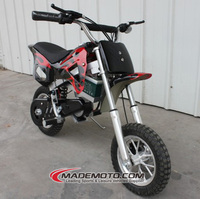 250W /300W Kids Automatic Dirt Bike for Sale, Mini Electric Dirt Bikes in Blue/Red Color