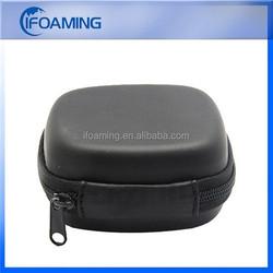 small hard eva case/blow mold plastic tool case/round zipper case