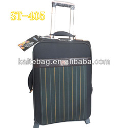 New design hot selling top quality button trolley 4 pcs set luggage
