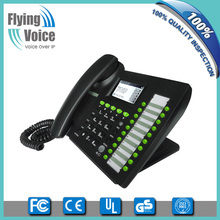 basic 3g sip phone Flyingvoice desktop wifi sip phone IP652W