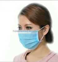 Good Quality Cheap price 3-ply non woven argan zenix clay face mask