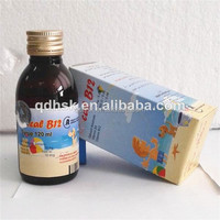 2015 latest pharmaceutical calcium vitamin b complex oral syrup with vitamin B12