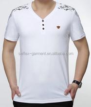 fashion latest men's v-neck tshirts