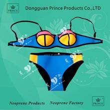 2015 custom sexy neoprener tiangle bikini