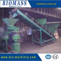 compost fertilizer production line/organic fertilizer making machine