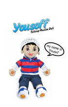 Aamina and Yousuf Talking Muslim Doll Islamic Toy Arabic Toy - by Desi Doll