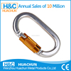 EN362:2004 certified safety carabiner for climbing
