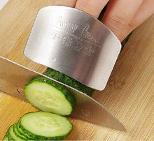 Finger guard newest stainless steel protect finger hand not to hurt cut Safety Guard Kitchen cooking tools