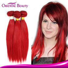 Personalized elegant and graceful one piece MOQ cheap 100% human hair for braiding brazilian red hair extension in dubai