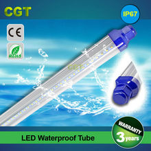 waterproof LED tube T8 icehouse light chicken farm lamp 2.4m 8FT 36w IP67 SMD2835 CE Rohs approved