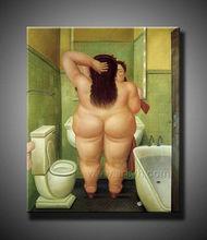 venta caliente desnuda mujer de grasa de aceite de la pintura