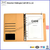 New Promotion Fashion Business Faux Leather Binder Notebook