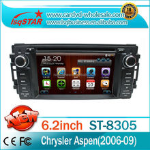Chrysler Town/ Country Wince 6.0 Central Multimedia GPS with USB +SWC+ATV+MP4/MP5