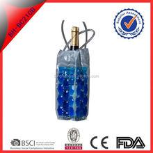 bottle cooler bag/wine cooler bag with handle