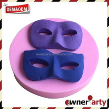 Food Grade Newly Mask Shape Cake Silicone Mold