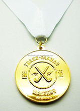 Australian Student medals in gold color