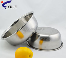 18cm 410# 410# stainless steel food container with embossed lid for family