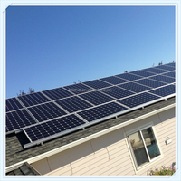 10KW 20KW PV solar panel system for home, 1kw solar energy system price