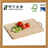 2016 new design creative wood cutting board chopping block with handle and hanger