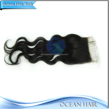 No Chemical Long Lasting Wholesale Factory Price Light Brown Lace Closure