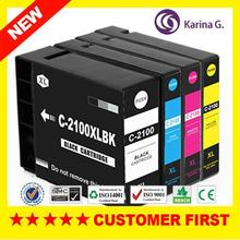 new refill ink cartridges for canon 2100 canon2500 with chips