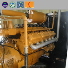 Methane gas generator inventory product fuel consumption low American componients gas power plant 1000kw natural gas generator