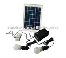 hot sale 5w solar led home light for indoor use