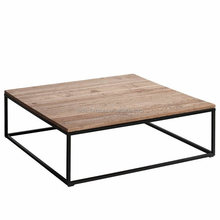 luxury modern square MDF coffee table