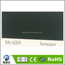 ral 6009 epoxy polyester spray powder coating
