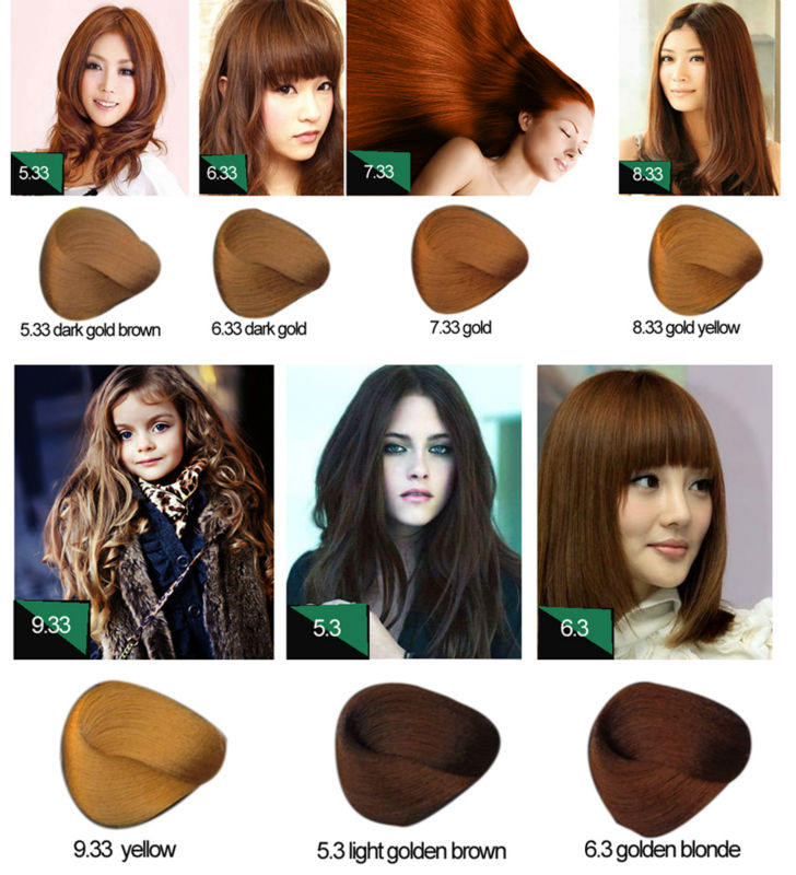 Best Selling Products Permanent Hair Color Brands Good Quality