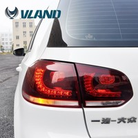 CE CCC Emark certification custom car lights car accessories made in china vw golf 6 led tail light