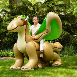 customized promotional advertizing giant inflatable dragon