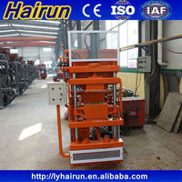 2015 hot selling automatic clay brick manufacturing plant HR1-10 made in China