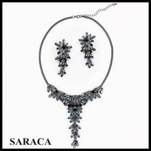 Costume jodha akbar crystal wedding jewelry set for bridal J914