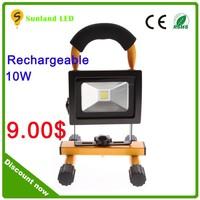 Emergency rescue light IP65 10W led light rechargeable, led rechargeable emergency light,rechrechargeable led magnetic work ligh