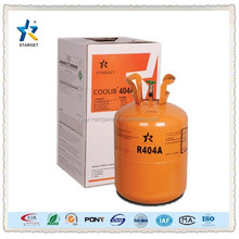 99.8% purity r404a mixed refrigerant gas used for air condition