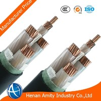 High Quality 50mm2 600V 1000V 3+1 Cores Copper Conductor XLPE Insulated Low voltage Power Cable With Manufacturer Price