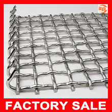 cheap galvanized heavy duty crimped wire mesh for selling